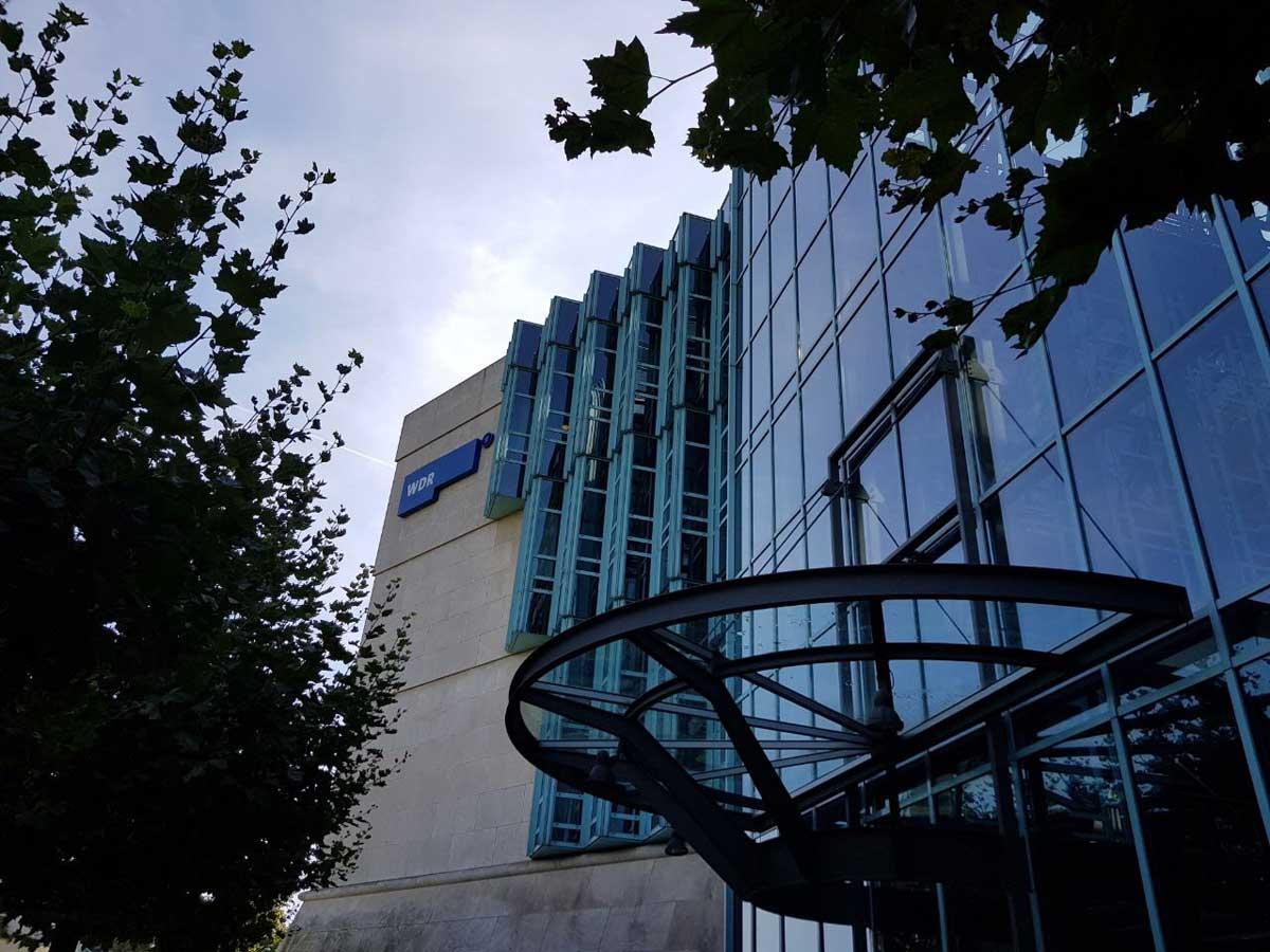 Fassadenabdichtung WDR Düsseldorf