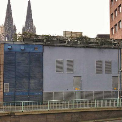 Fassadenumbau WDR Köln