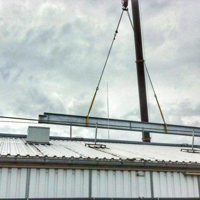 Stahlbaukonstruktion WDR Köln 1