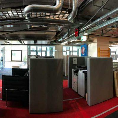 Umbaumaßnahmen im Zuge der Sanierung WDR Sportcampus